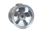 35JM/16/4/5/22/1Ph Long Cased Axial Flow Fan by Flakt Woods