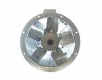 45Jm MaxFan high pressure long cased axial extract fan by Flakt Woods
