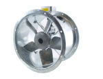45JM/16/4/5/40/1Ph Long cased axial flow extract fan by Flakt Woods