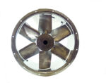 71JM/20/4/6/36/3Ph Long cased axial flow extract fan by Flakt Woods