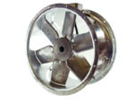 71JM/20/4/6/22/3Ph Long cased axial flow extract fan by Flakt Woods