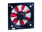 HCBB/4-400/H Soler and Palau (S&P) plate axial flow extract fan previously known E400/4/1A